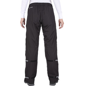VAUDE Fluid Full-Zip Pants Dame black